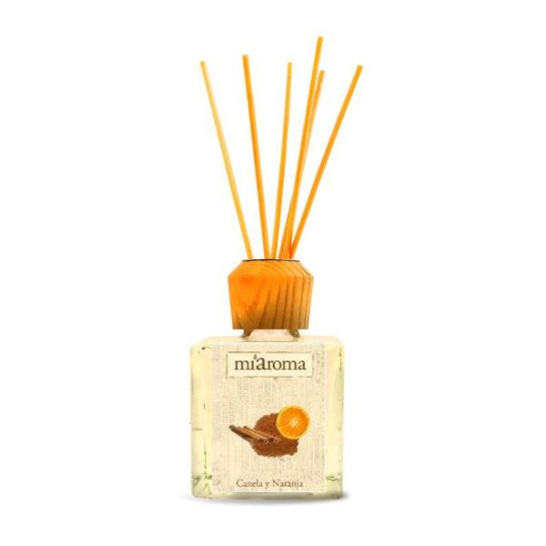 CANELA ORANGE 100ML+FRASCO+6 RATTAN